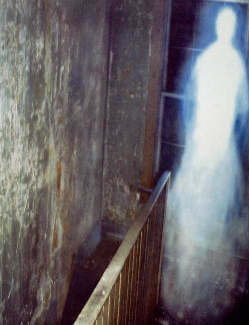 Abandoned House Ghost Photo