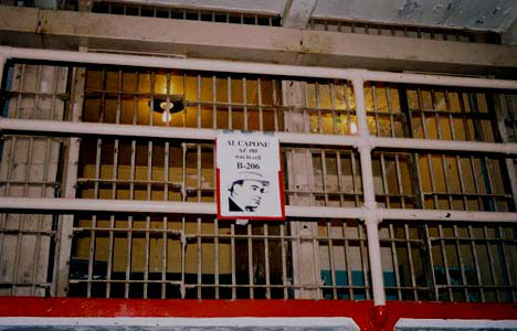 Al Capone's Cell at Alcatraz Prison