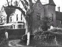 A side view of Borley Rectory