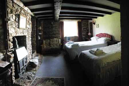 A Church House Inn Bedroom