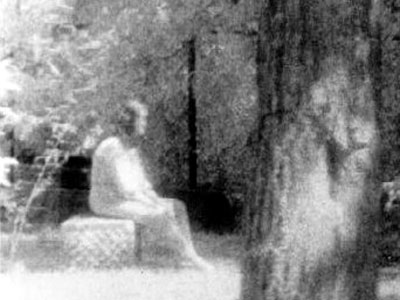 Bachelor's Grove Cemetery Ghost Photo