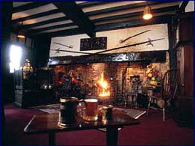The Fireplace at the Mermaild Inn