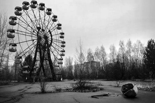 The Abandoned Ferris Wheel at Pripyat