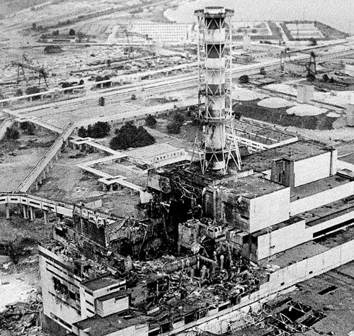 The Ruins of Reactor 4 at Chernobyl